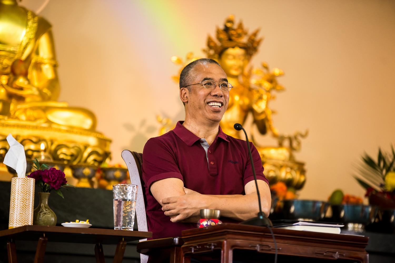 Acharya Lama Tenpa Gyaltsen on Meditation & the Eight Verses of Mind Training by Geshe Langri Tanpa