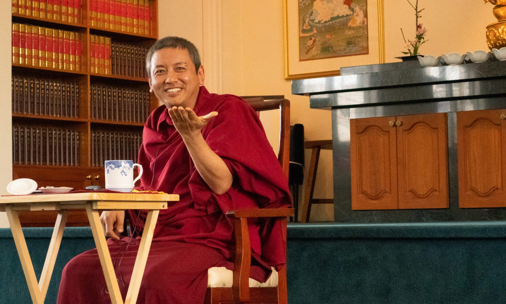Connecting with Buddha Nature with Acharya Tashi Wangchuk